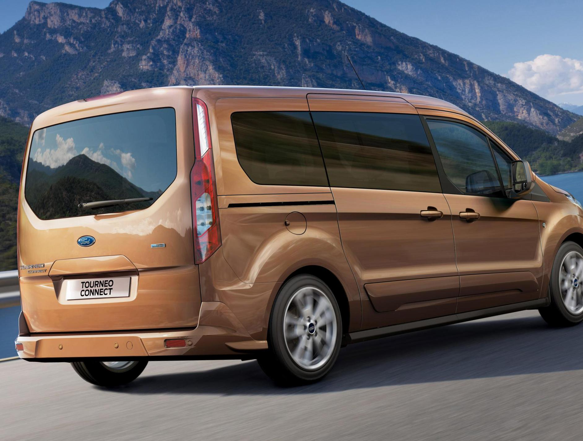Tourneo Connect Ford how mach 2015