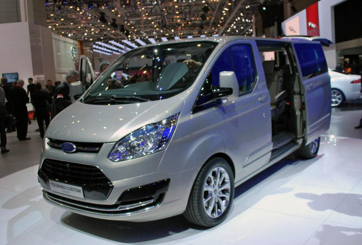 Ford Tourneo Custom Specifications 2014