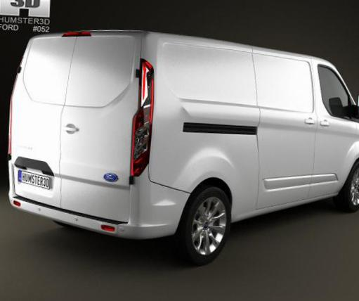 Transit Custom Ford cost 2012