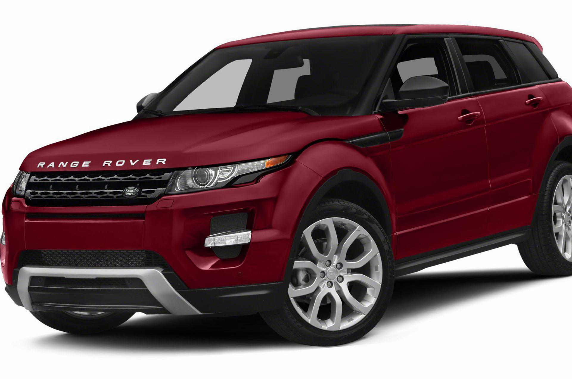 Land Rover Range Rover Evoque Specification sedan