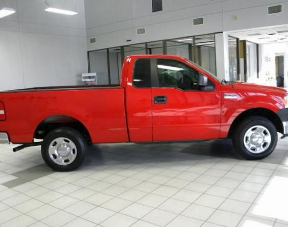Ford F-150 Regular Cab Specifications 2013