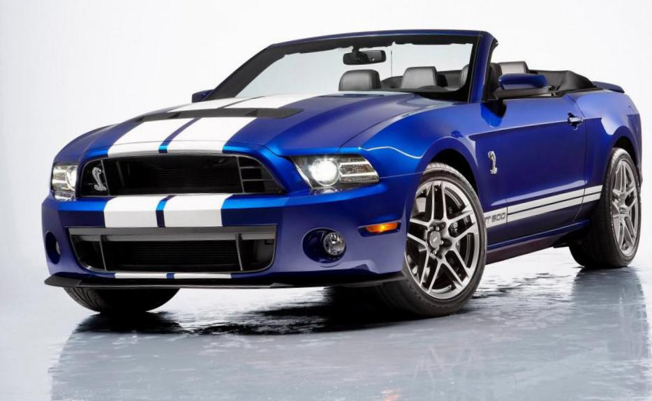 Ford Mustang Convertible spec 2014