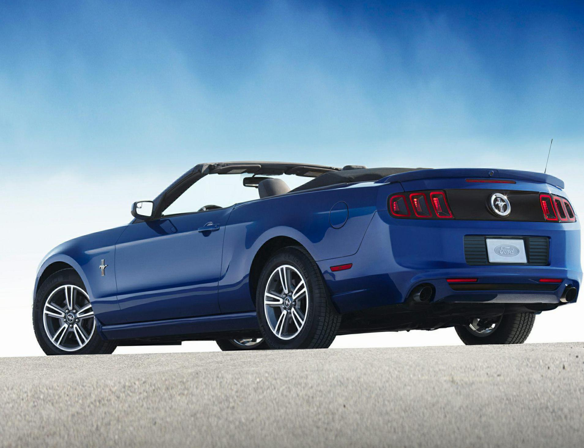 Mustang Convertible Ford Lease 2017