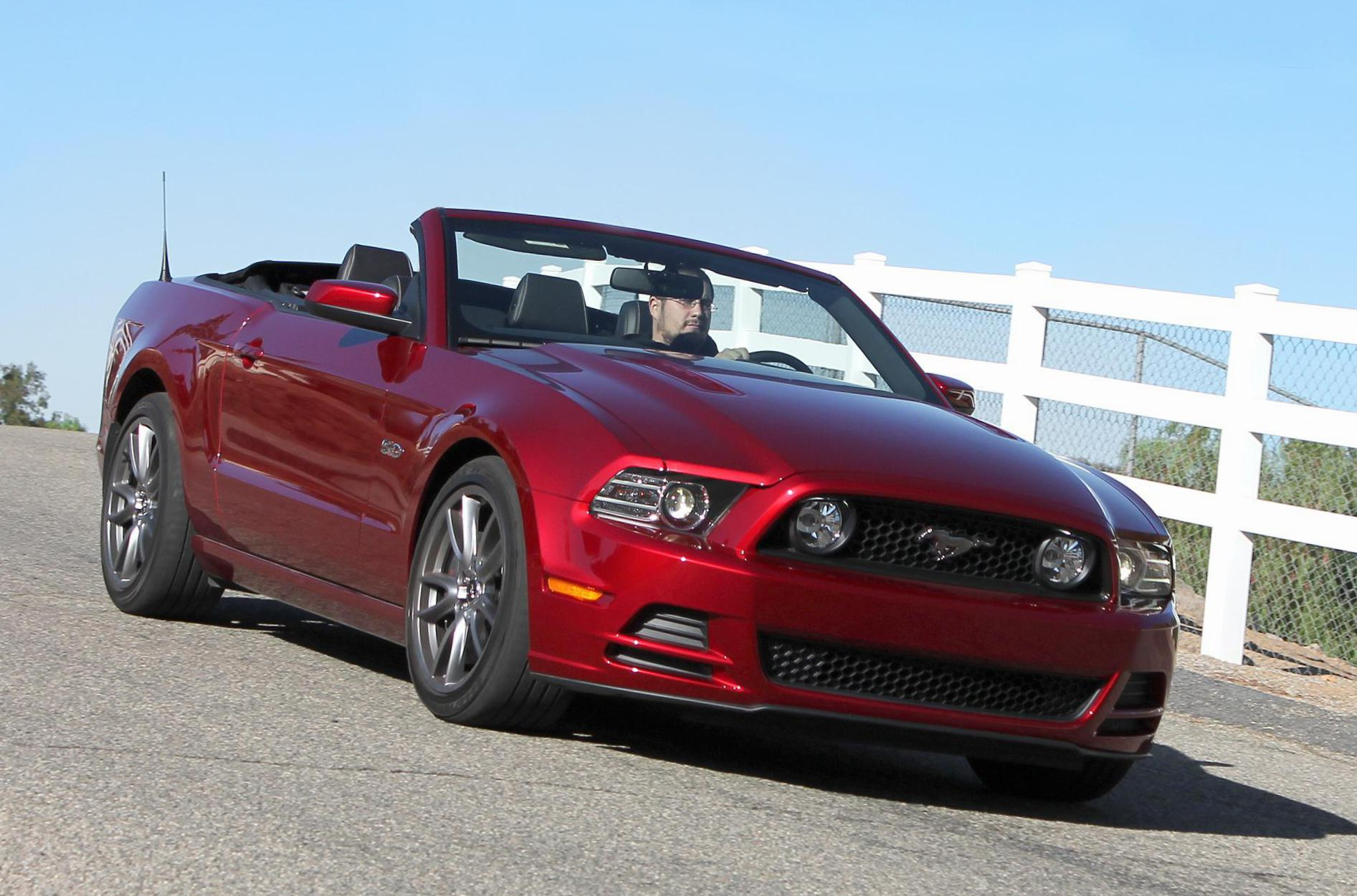 Mustang Convertible Ford review hatchback