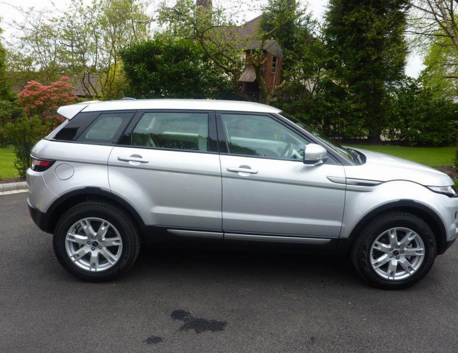 Land Rover Range Rover Evoque Coupe configuration hatchback