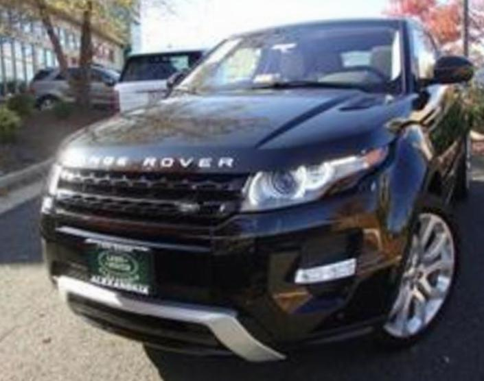 Land Rover Range Rover Evoque Coupe new sedan