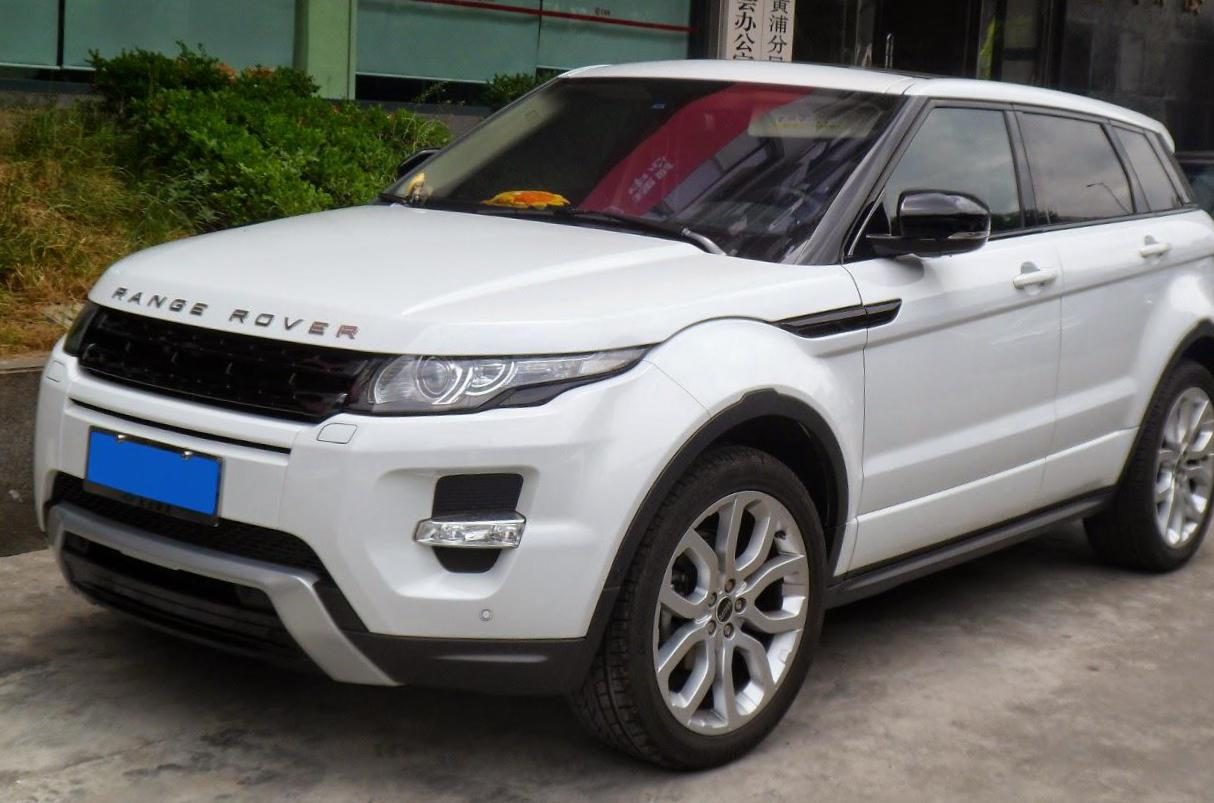Range Rover Evoque Coupe Land Rover approved 2013