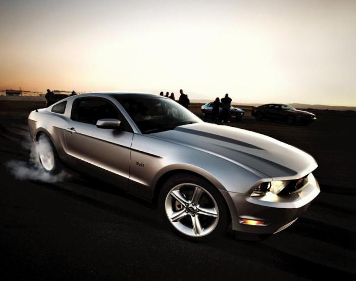Mustang Ford configuration 2006