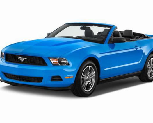 Mustang Convertible Ford review 2012