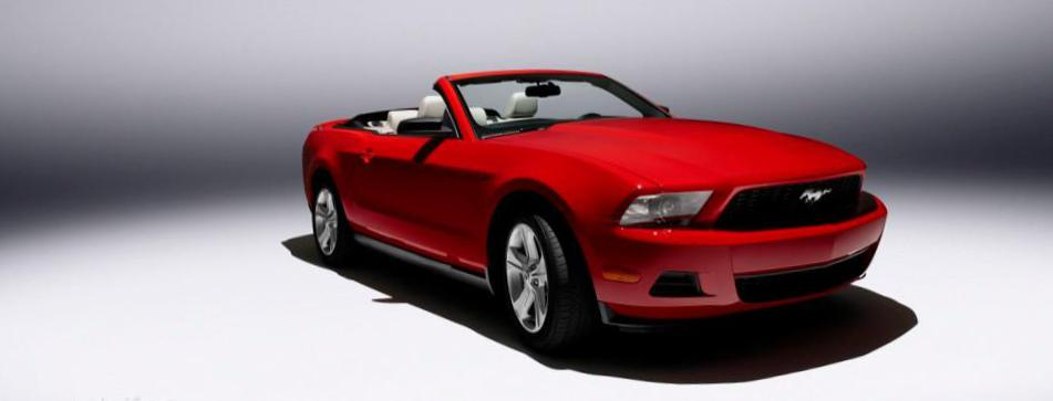 Mustang Convertible Ford cost 2012