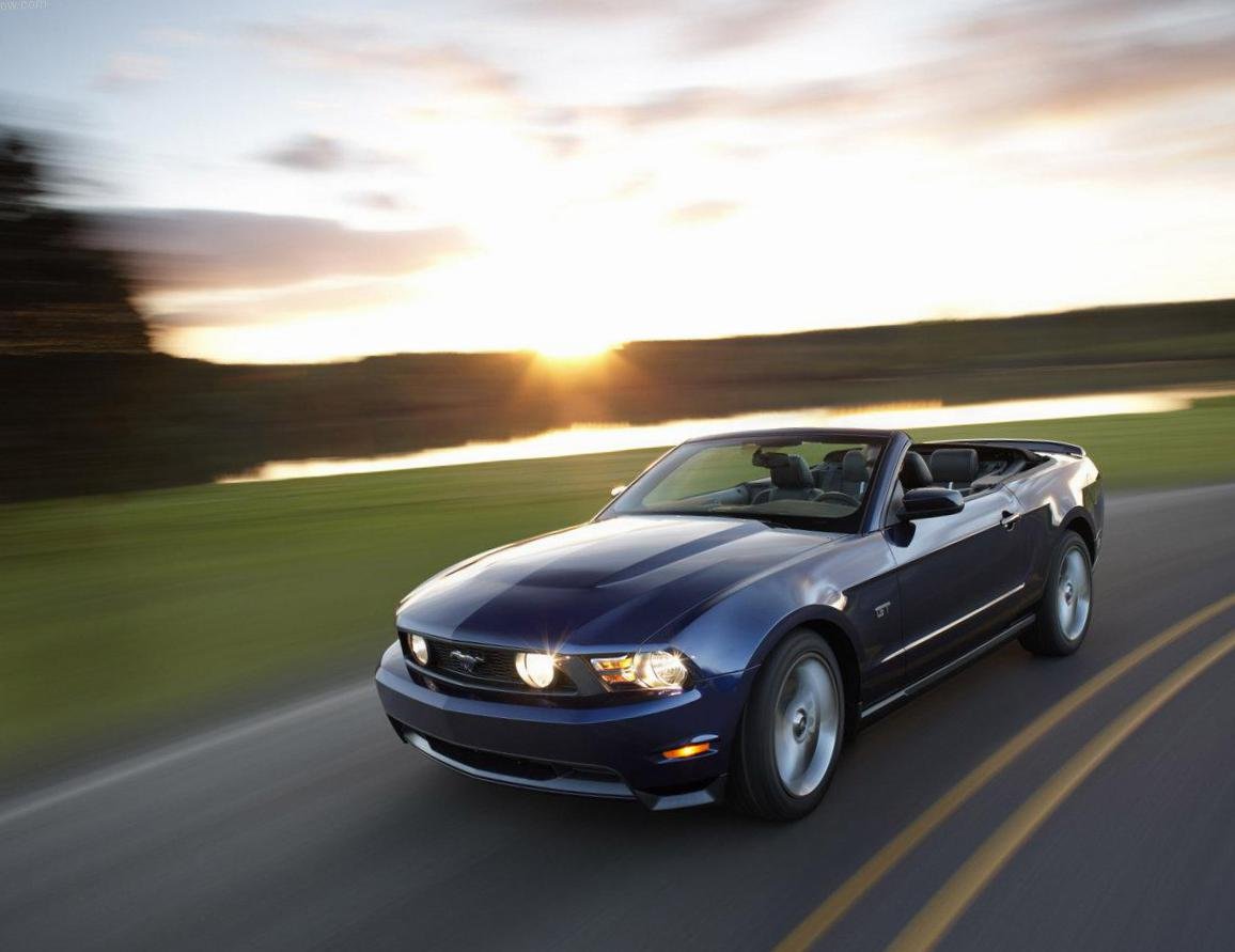 Mustang Convertible Ford Specification 2012
