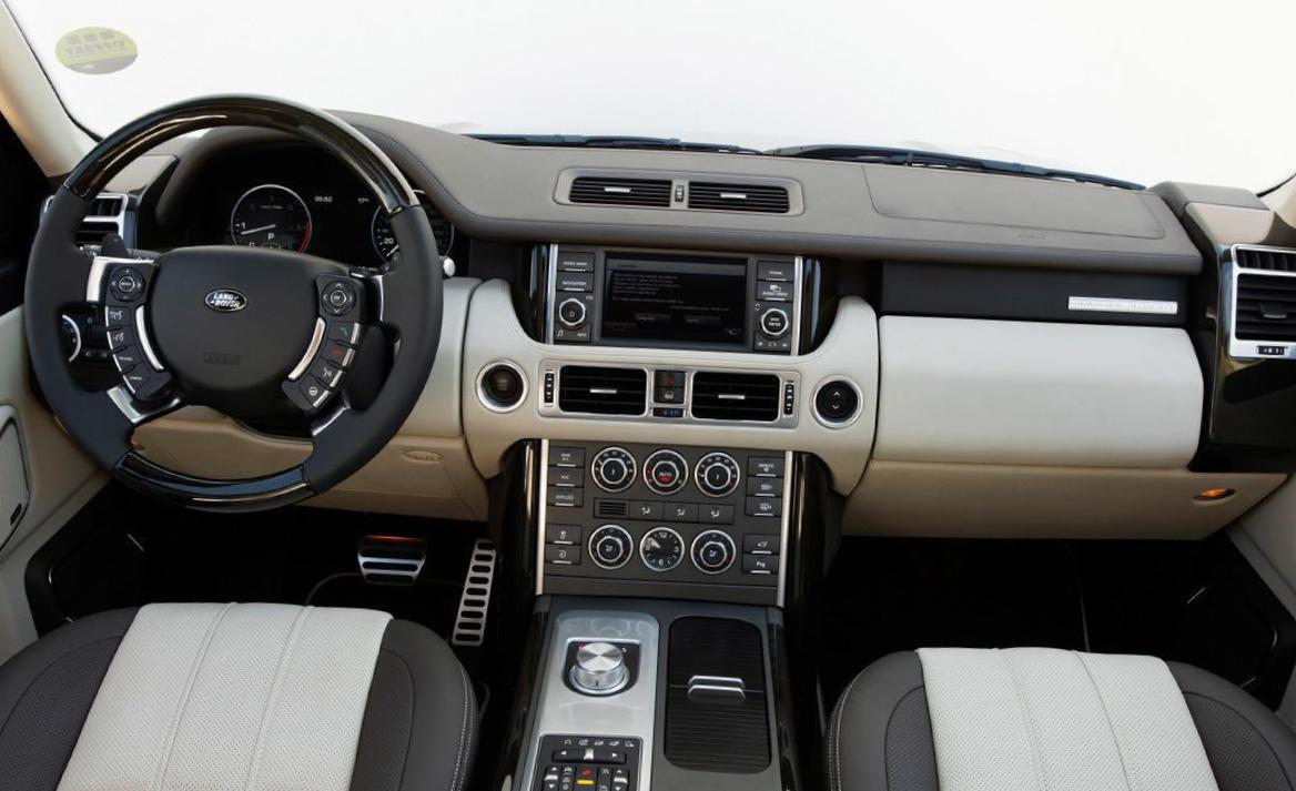Land Rover Range Rover review sedan