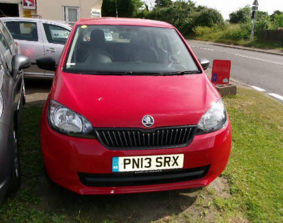 Skoda Citigo 5 doors how mach 2014