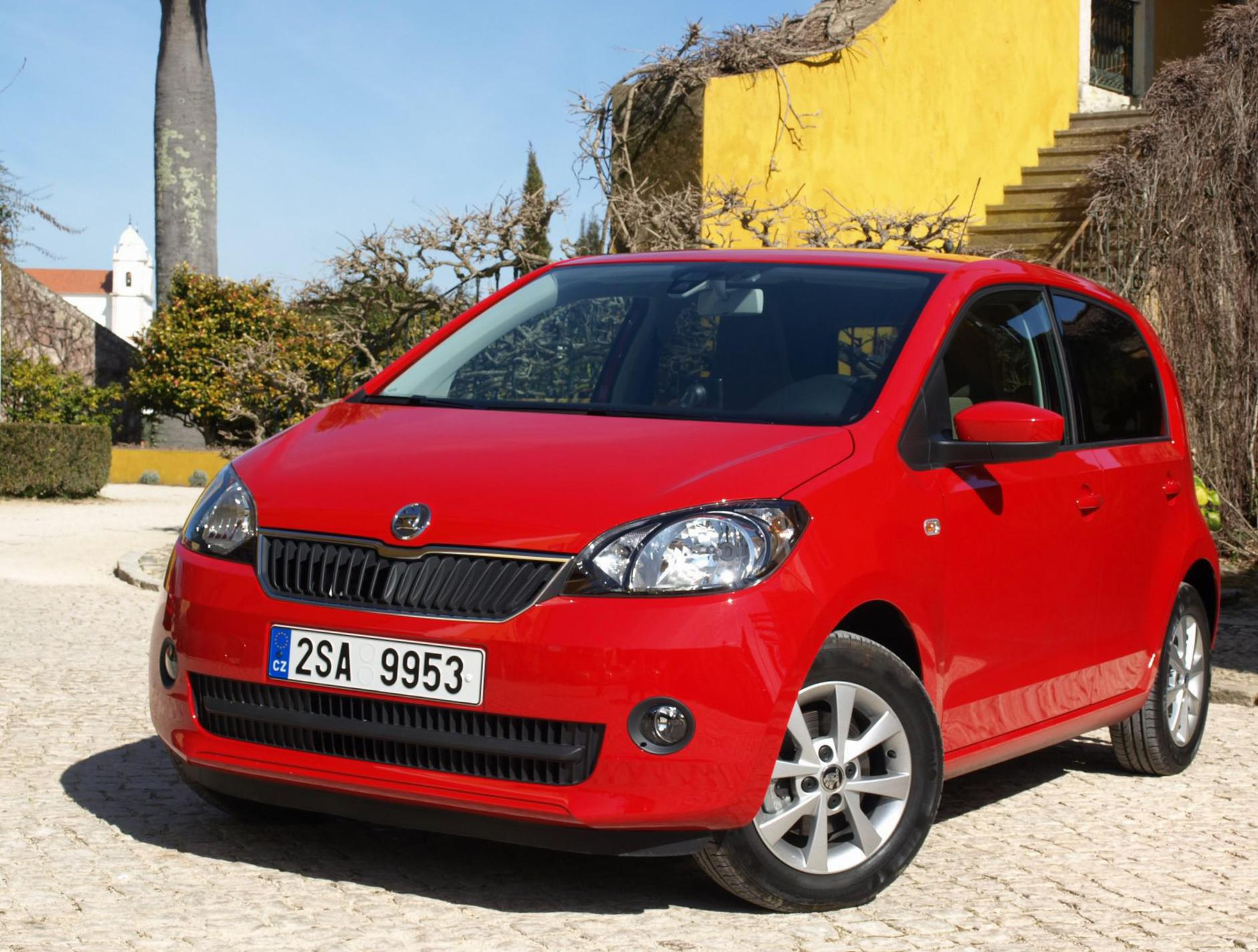 Skoda Citigo 5 doors tuning 2012