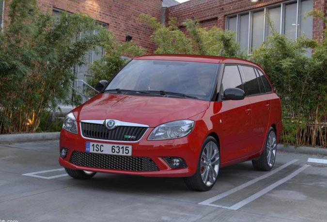 Skoda Fabia Specification 2012
