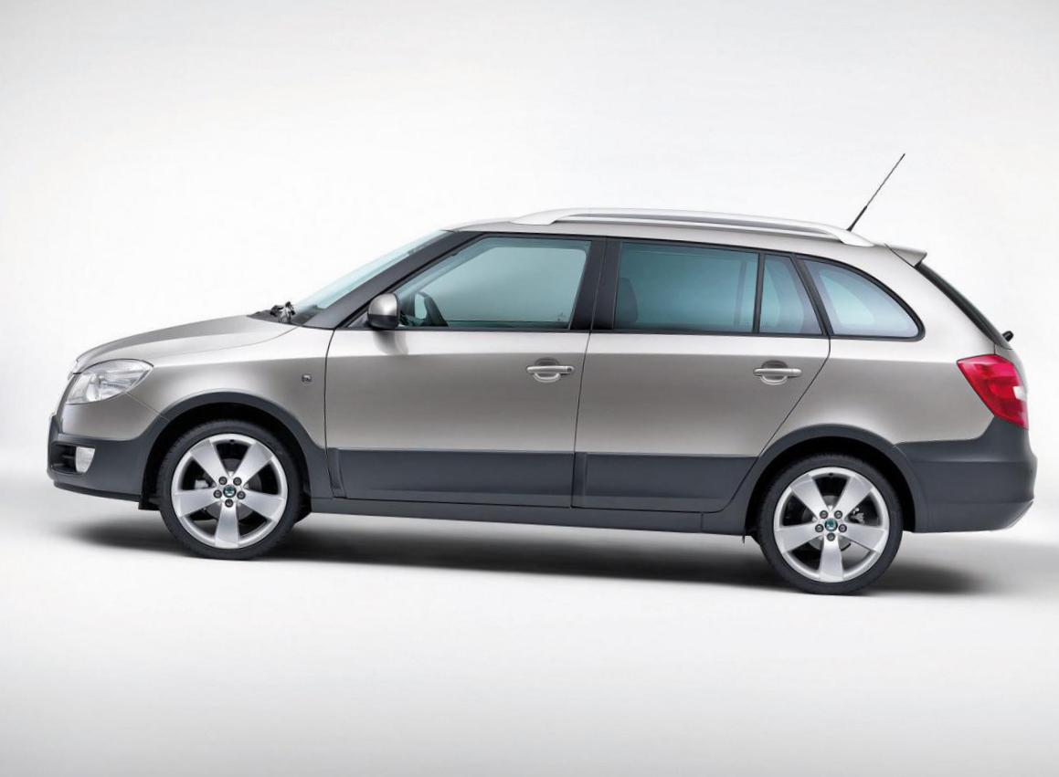 Fabia Scout Skoda model hatchback