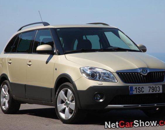 Skoda Fabia Combi Scout Specifications 2007