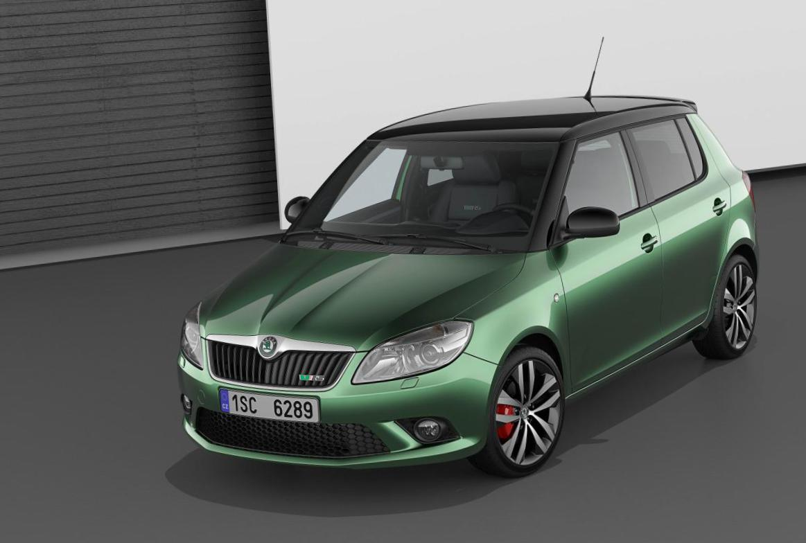 Skoda Fabia Combi RS new coupe