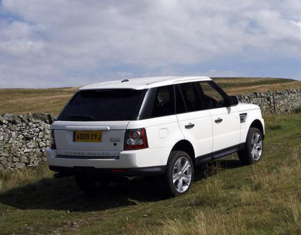 Land Rover Range Rover Sport model hatchback