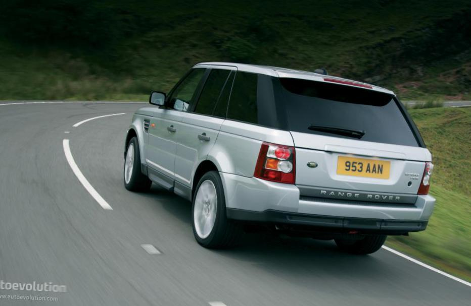 Range Rover Sport Land Rover model 2010
