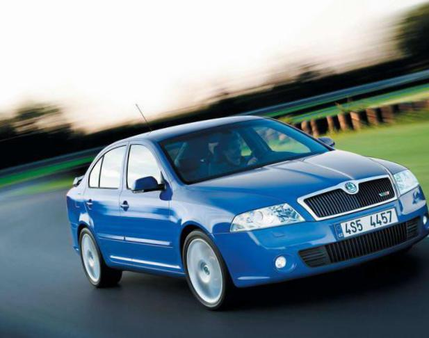 Octavia A5 RS Skoda parts hatchback