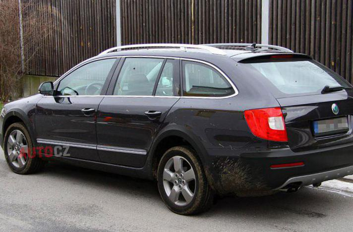 Skoda Octavia A5 Combi Scout Specifications hatchback