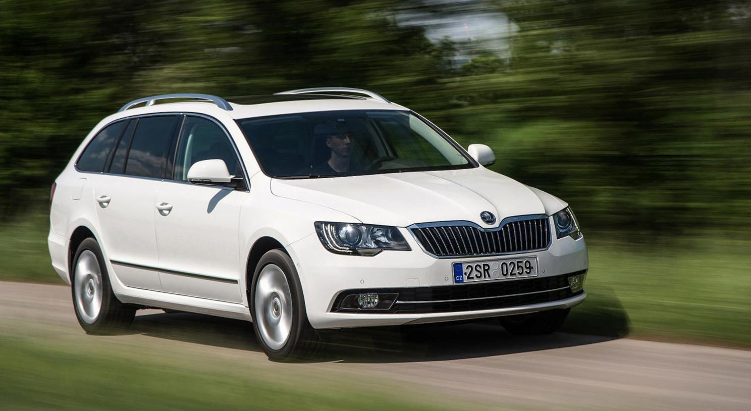 Skoda Superb Combi approved 2013