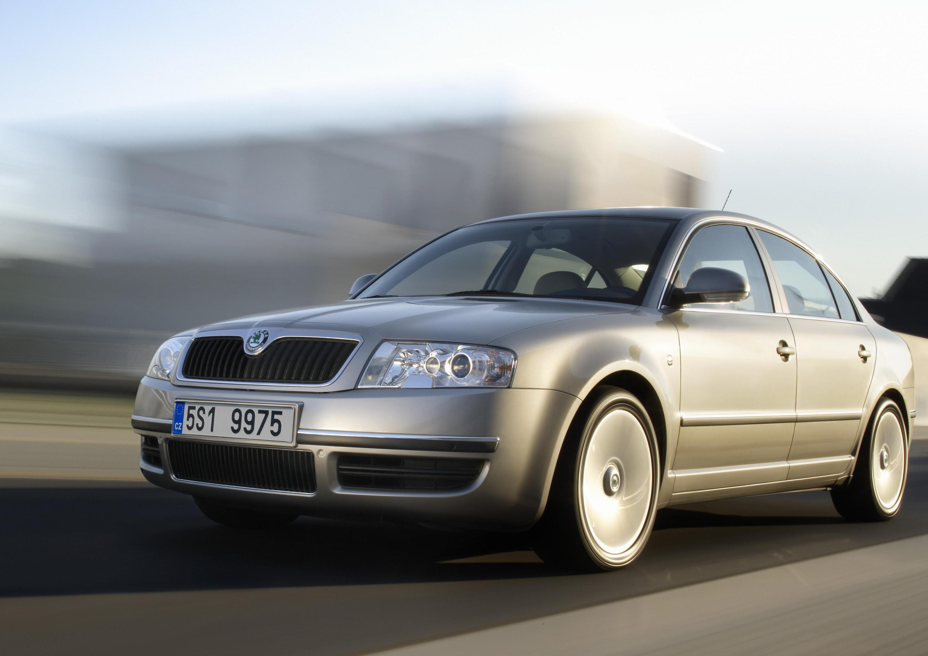 Skoda Superb price 2007