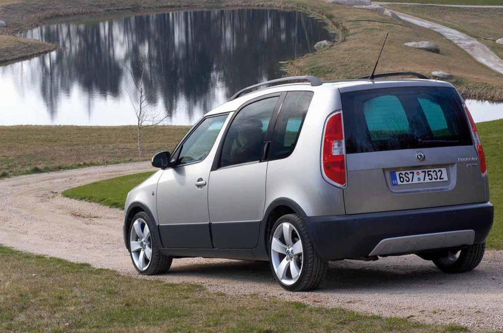 Roomster Skoda concept 2009