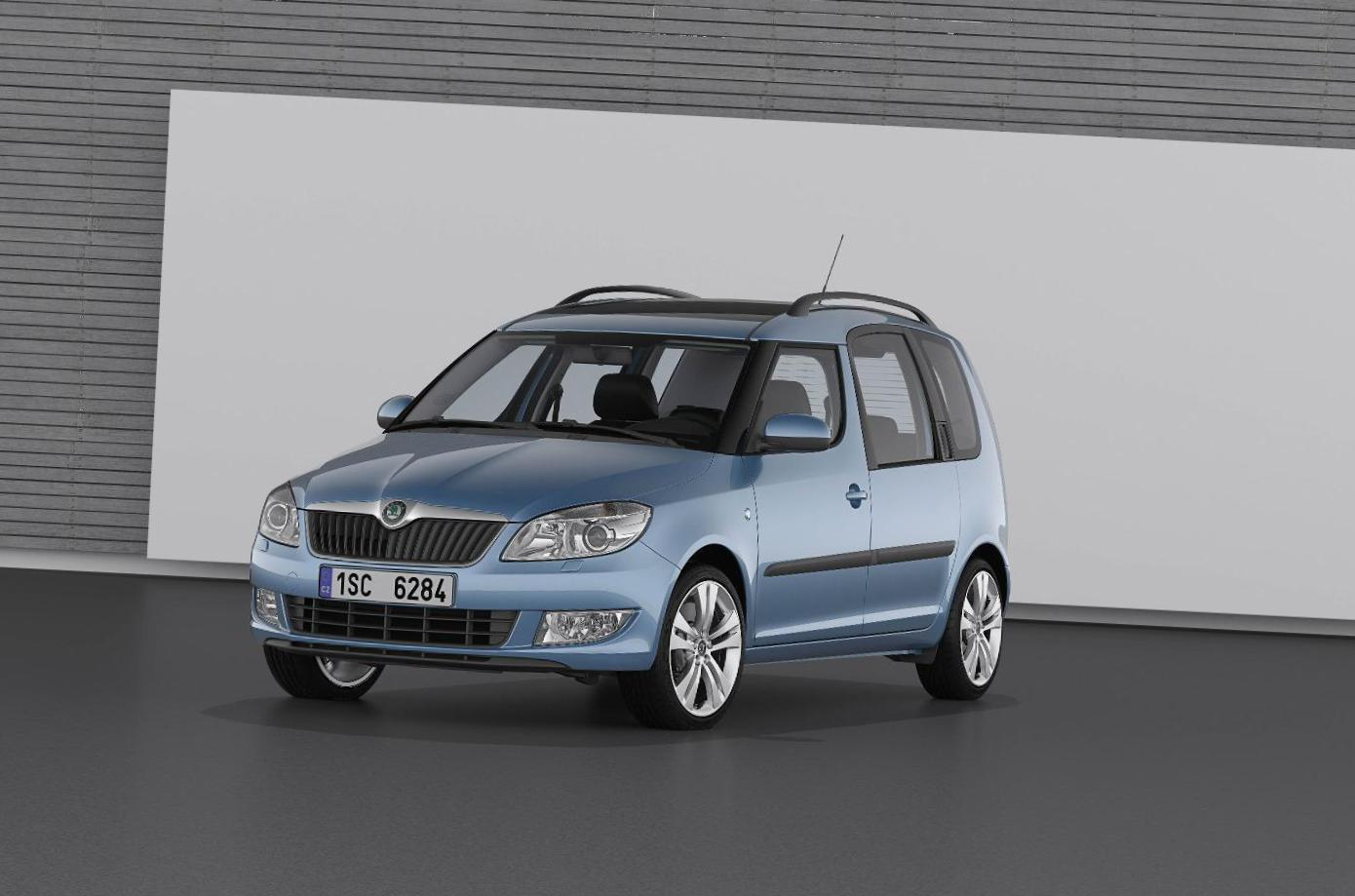 Skoda Roomster lease wagon