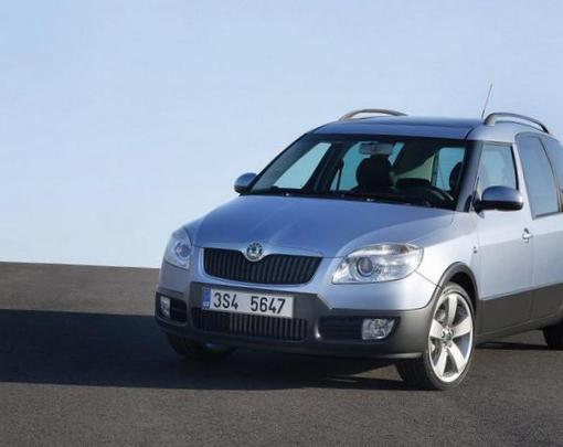 Roomster Scout Skoda model 2013