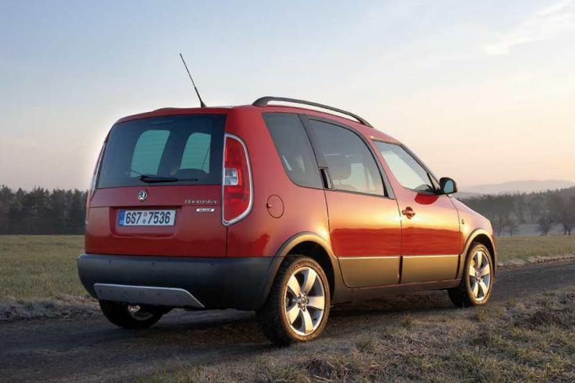Roomster Scout Skoda specs suv