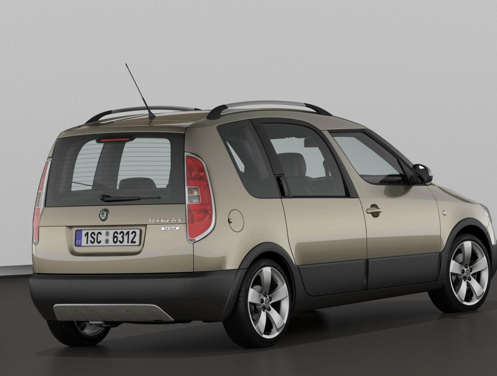 Skoda Roomster Scout approved coupe