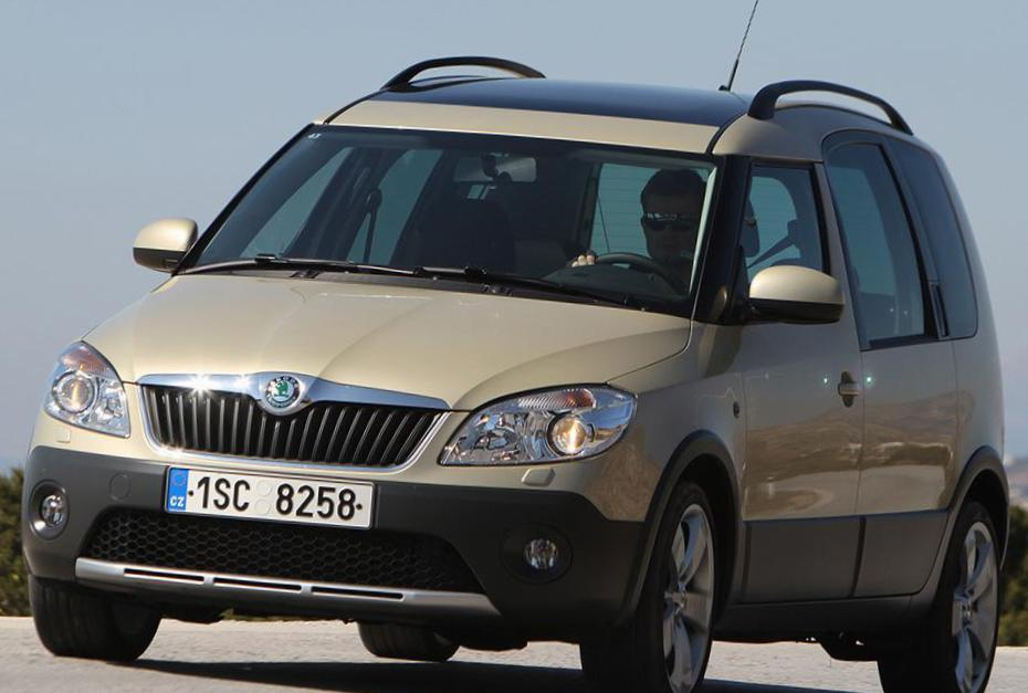 Skoda Roomster Scout review 2011