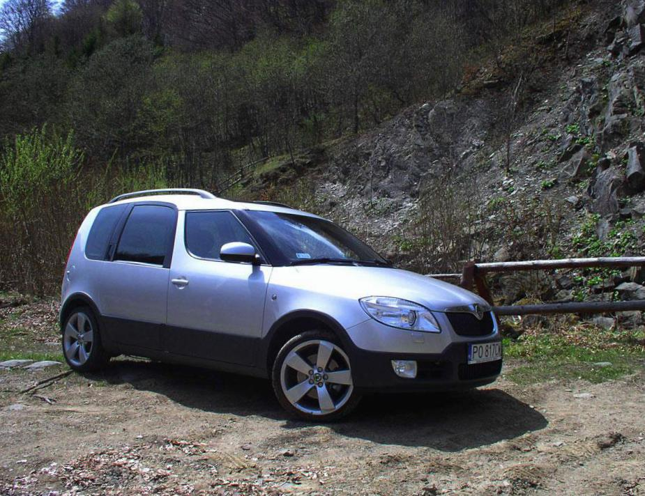 Skoda Roomster Scout concept 2008