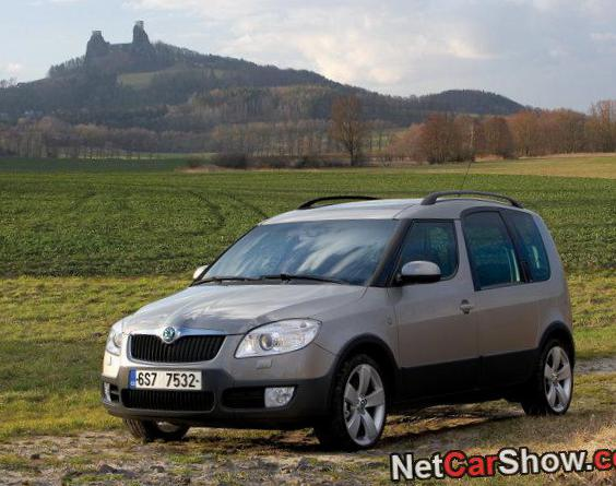 Skoda Roomster Scout usa 2014