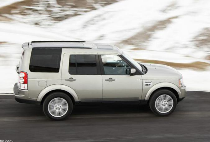 Land Rover Discovery 4 models 2009