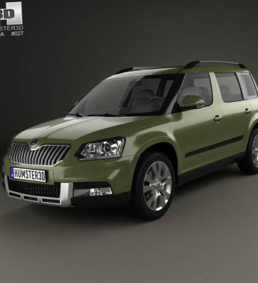 Skoda Yeti Outdoor lease 2012