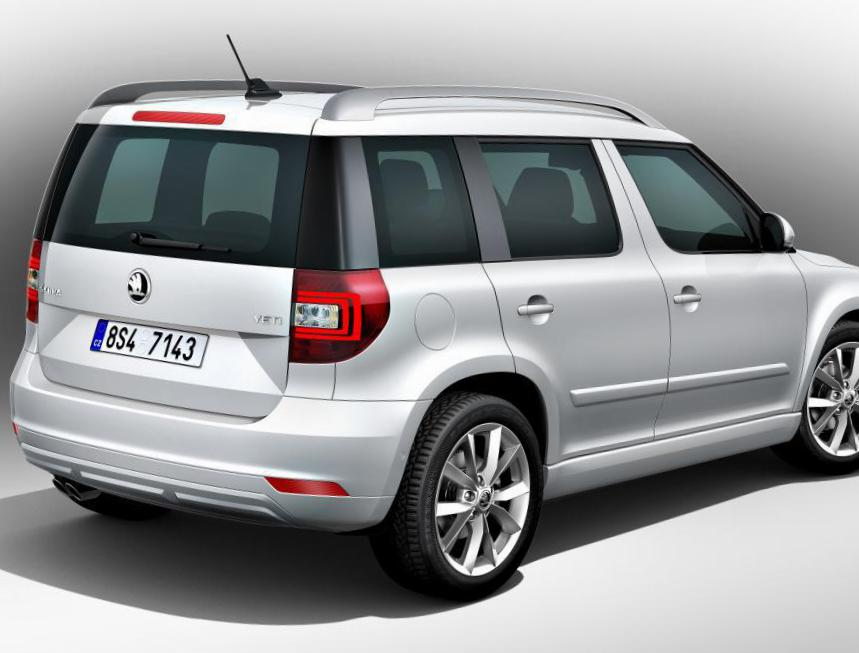 Skoda Yeti Outdoor new 2008