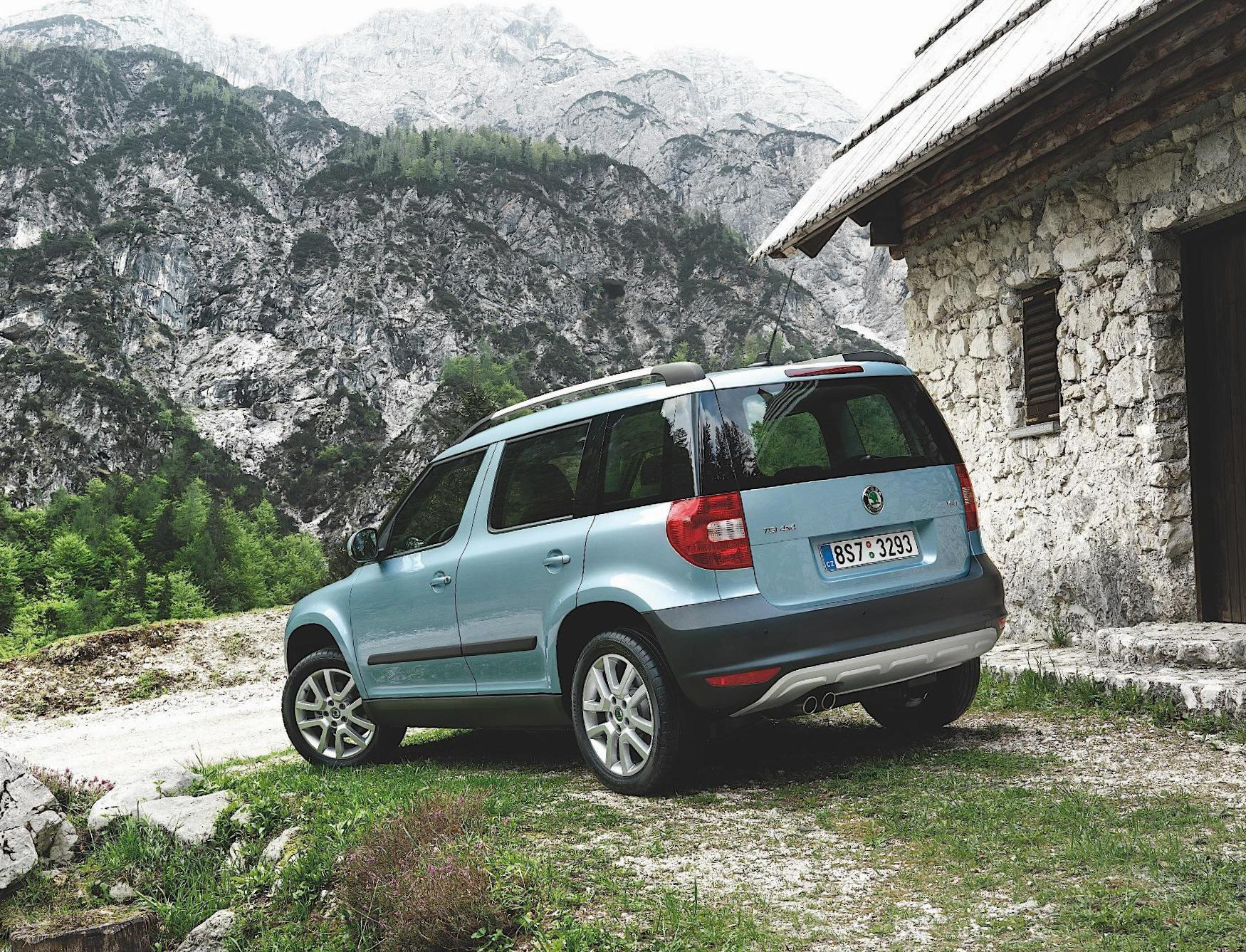 Yeti Skoda Specifications suv