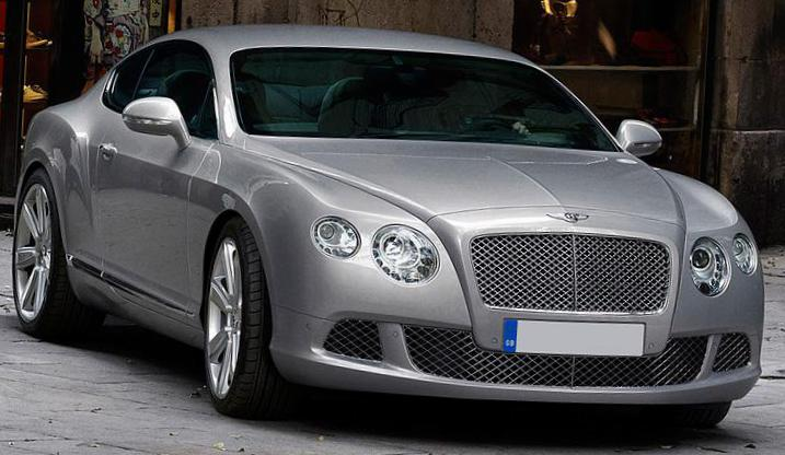 Bentley Continental GT for sale 2012