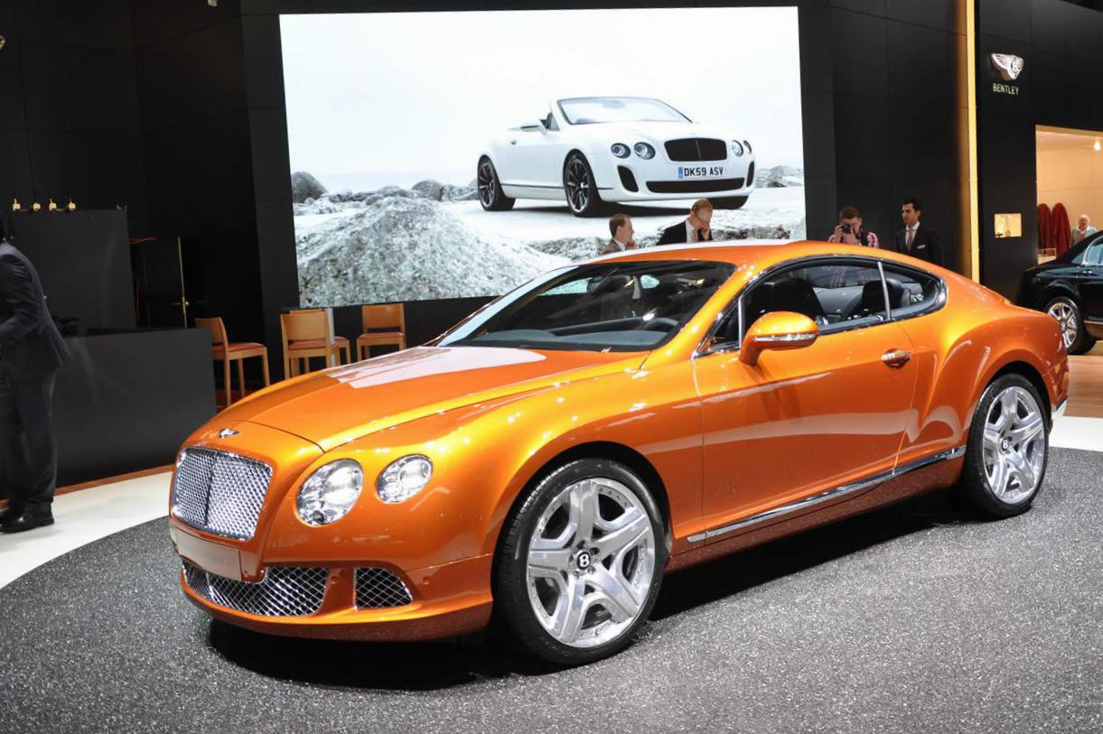 Continental GT Bentley model 2012
