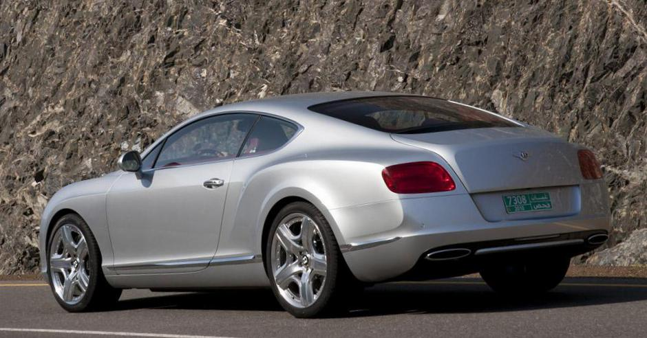 Bentley Continental GT model 2008
