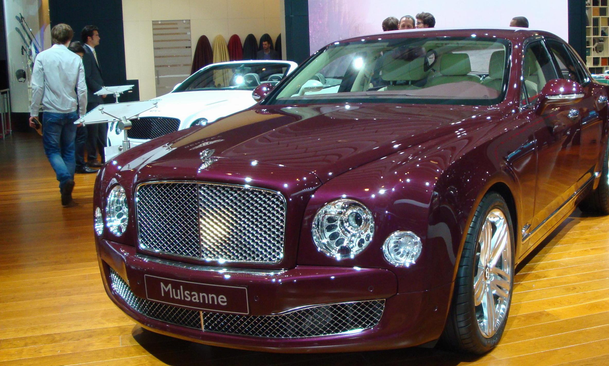 Bentley Mulsanne auto 2011