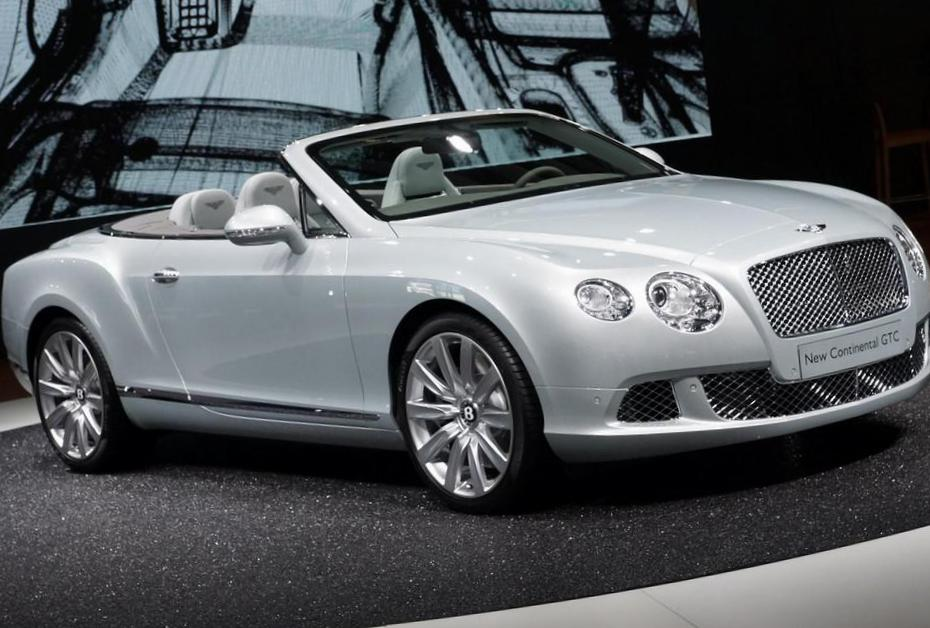 Continental GTC Bentley lease 2013
