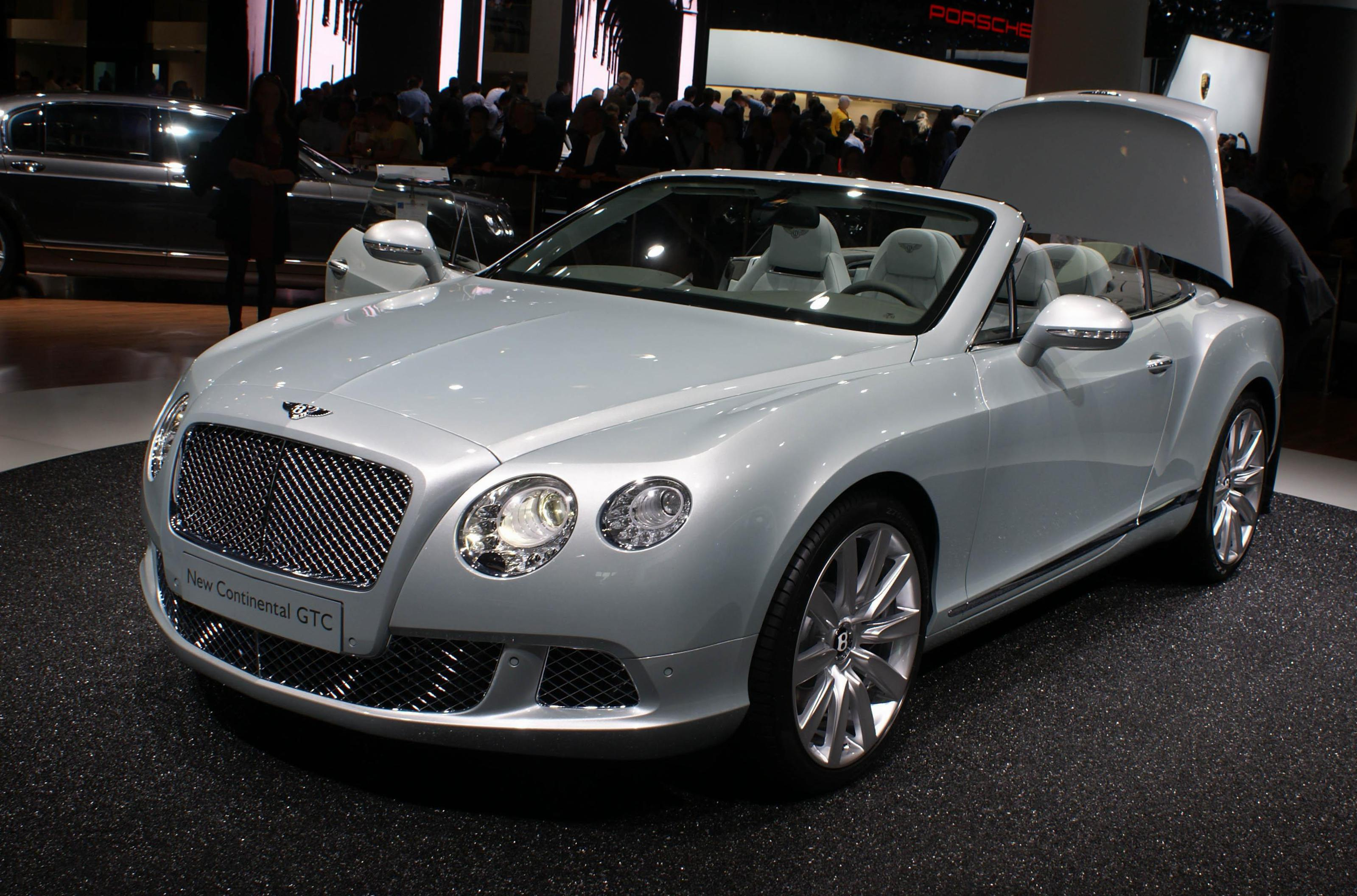 Continental GTC Bentley model 2007