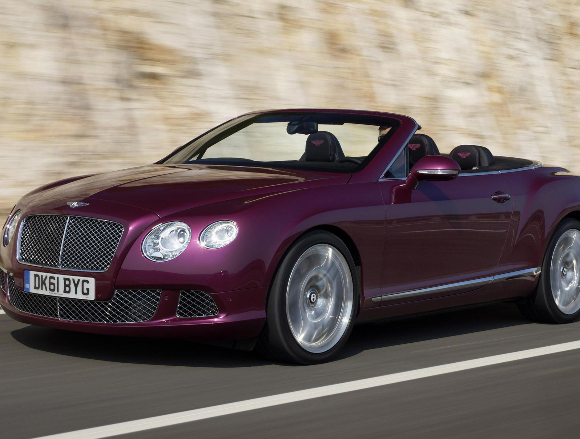 Continental GTC Bentley new coupe