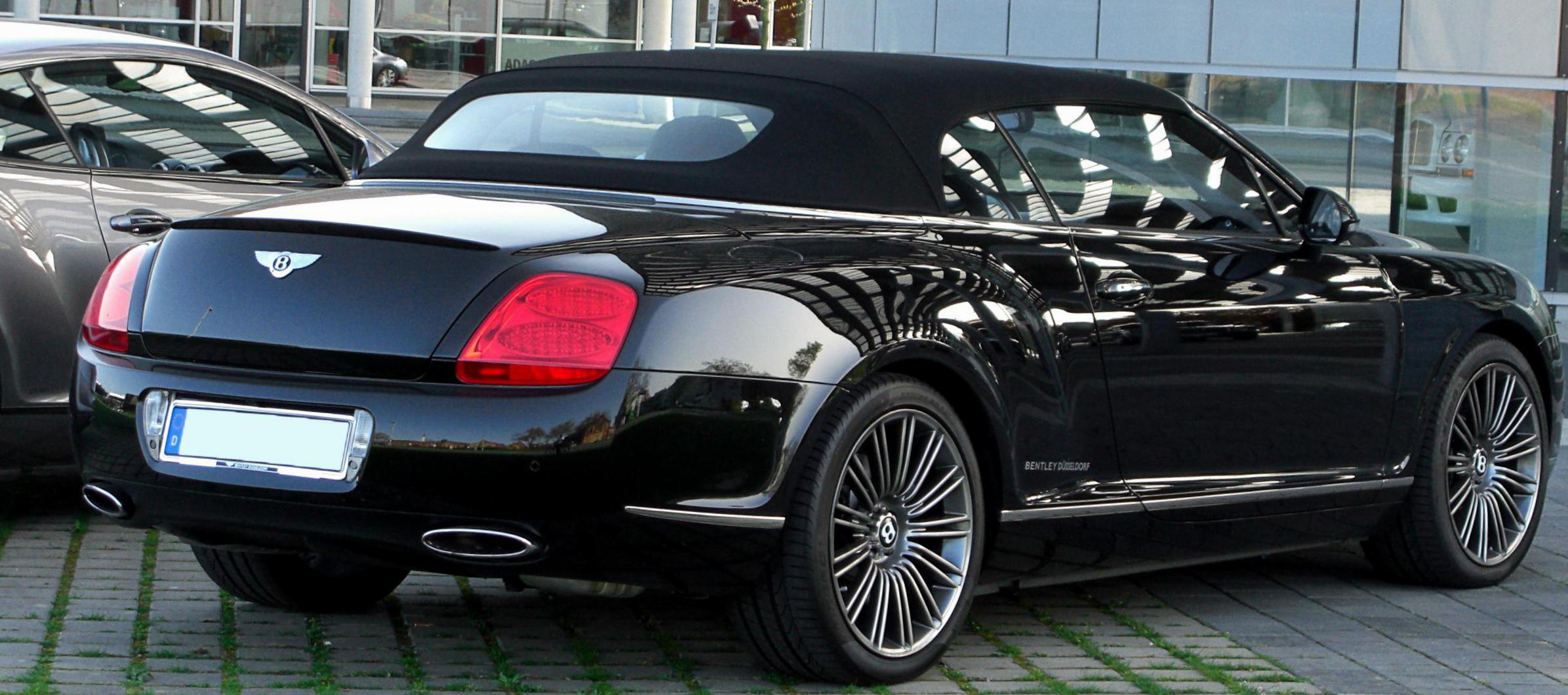 Continental GTC Bentley Specification 2012