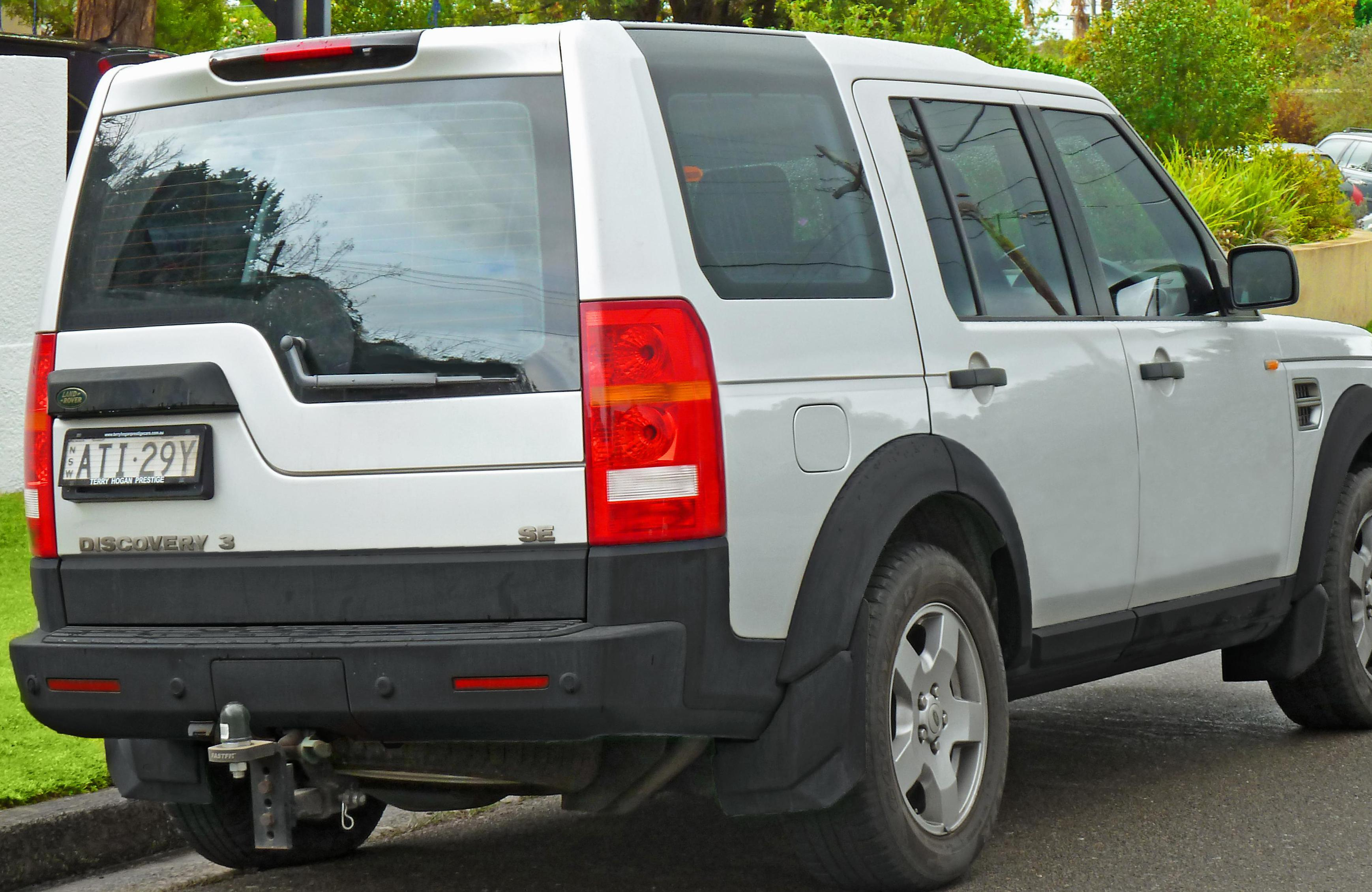 Discovery 3 Land Rover price hatchback