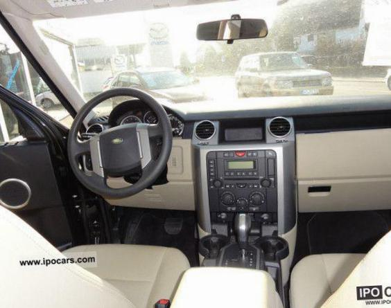 Land Rover Discovery 3 used minivan